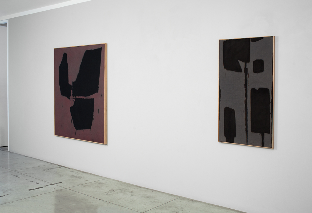 Charles Pollock: Black to Color,  Installation view at Jason McCoy Gallery, 2015.