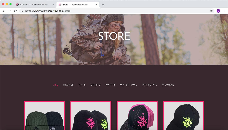 FollowHerArrow Website