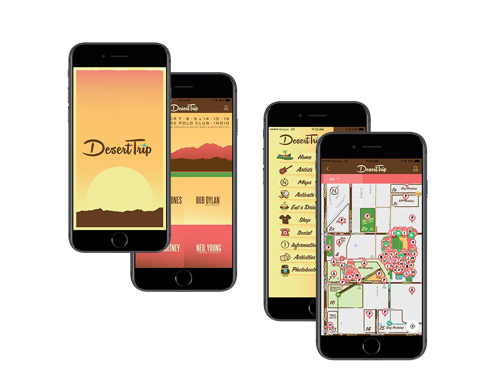 Desert Trip Mobile App