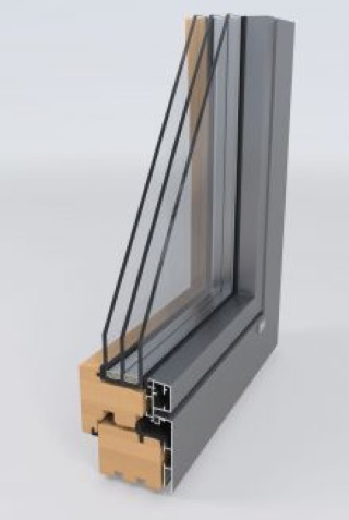 Wood WindowsAluminum Clad - Similar options to wood windows, but with several aluminum cladding profiles to match your personal style and provide great durability.