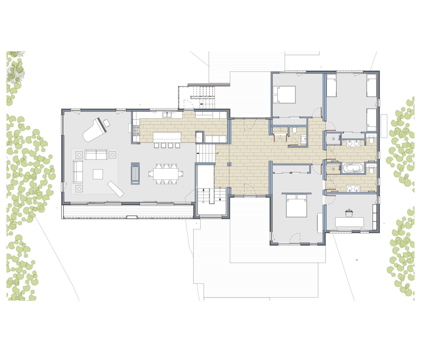 - Quick Facts:4,500 square feetSplit Level Design4 Bedrooms4 BathsLarge Media Room in lower level