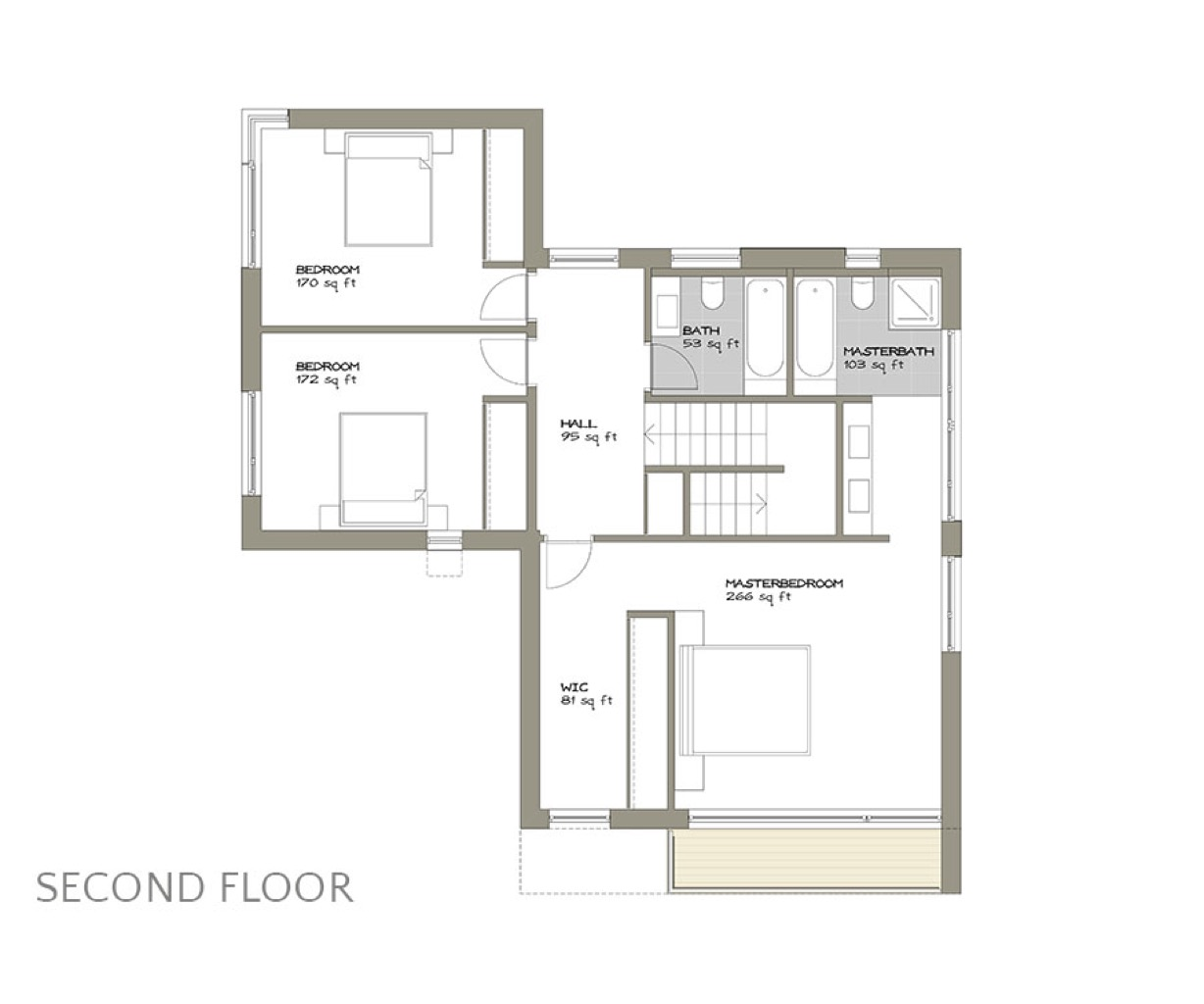 - Special Features:✓ Triple-pane floor-to-ceiling glazing✓ Open Plan✓ Compact Footprint✓ Bedroom Balcony