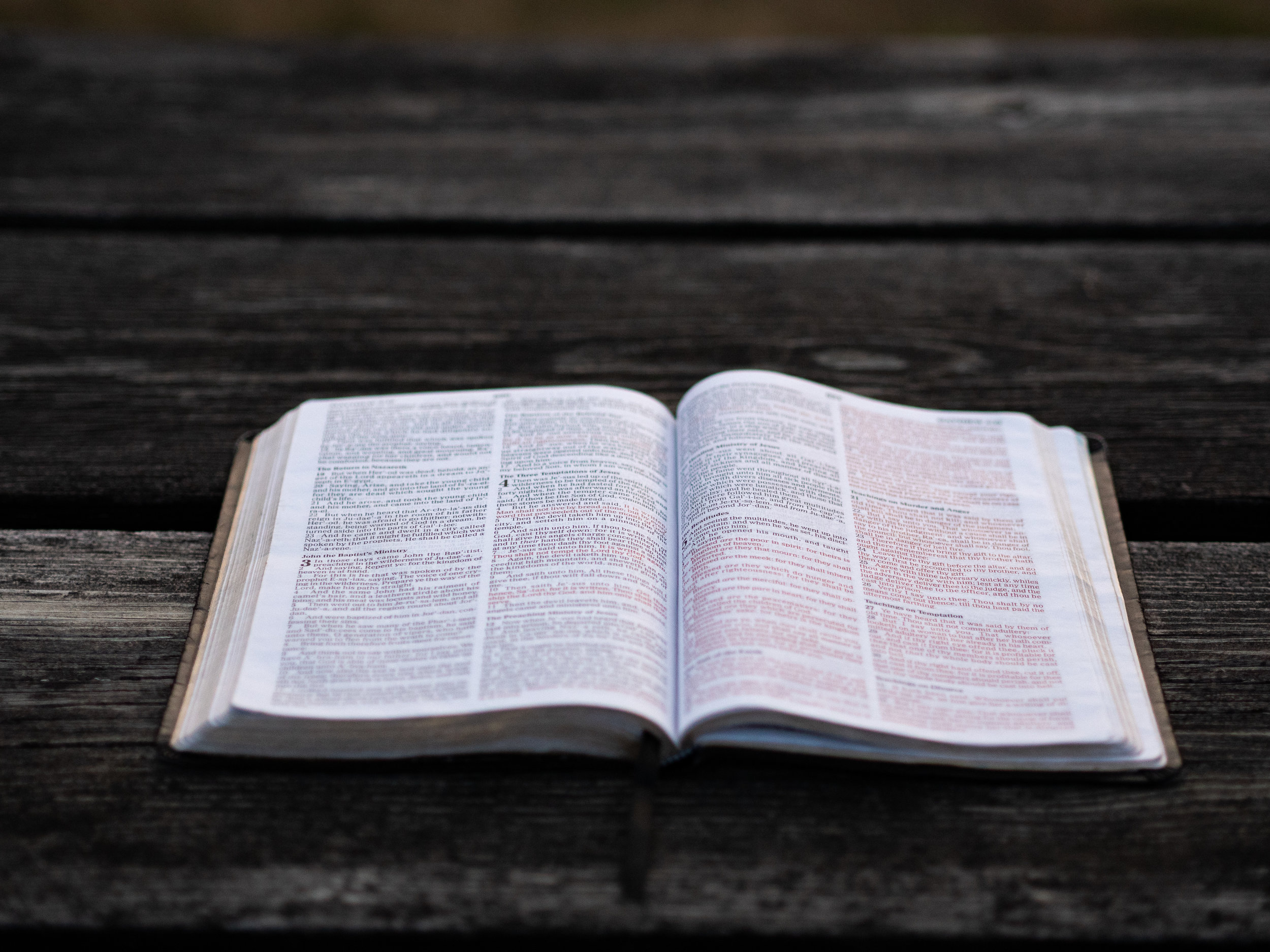 """- """"All Scripture is God-breathed and is useful for teaching, rebuking, correcting and training in righteousness, so that the servant of God may be thoroughly equipped for every good work.""""- 2 Timothy 3:16-17"""