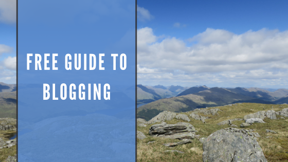 Free guide to blogging