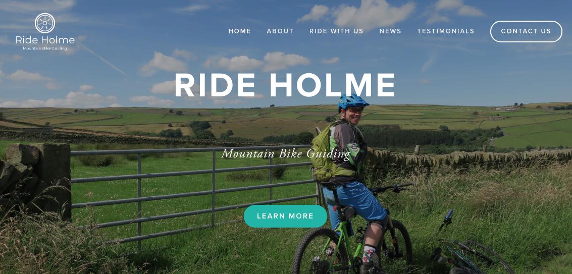 Website design, Ride Holme.png