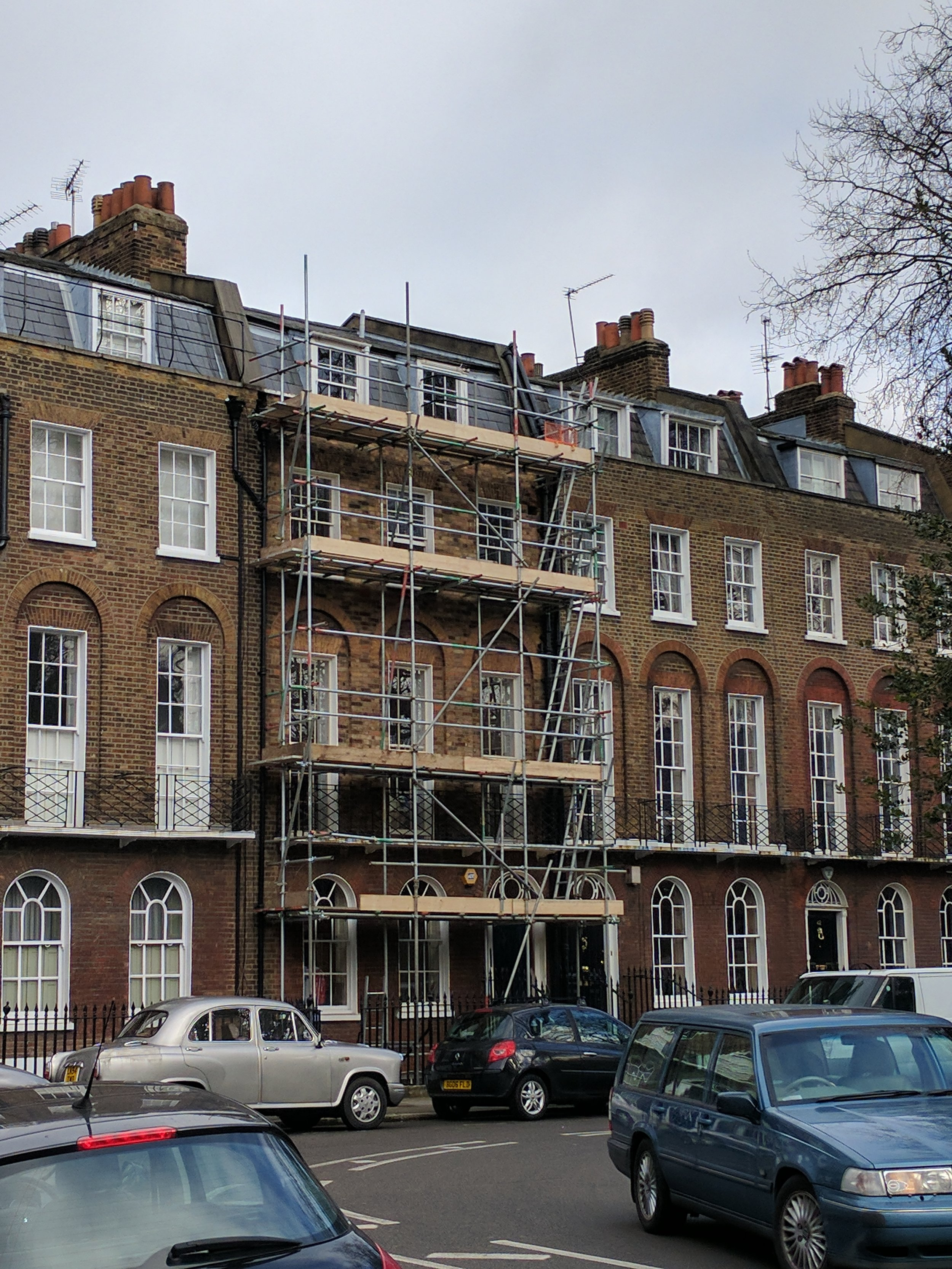 Beginning the construction process  Work begins on site at Canonbury in 2017