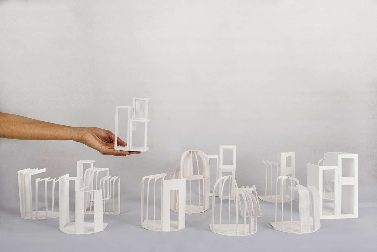 Formal models exploring the terraced house character and typology