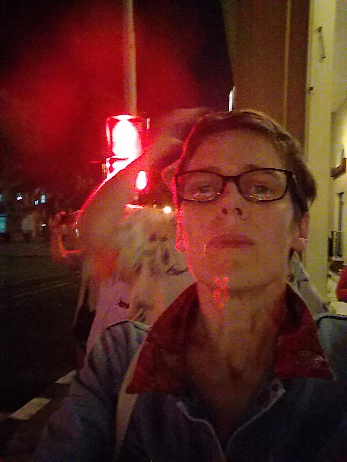 Selfie, from Knee's first night in Havana
