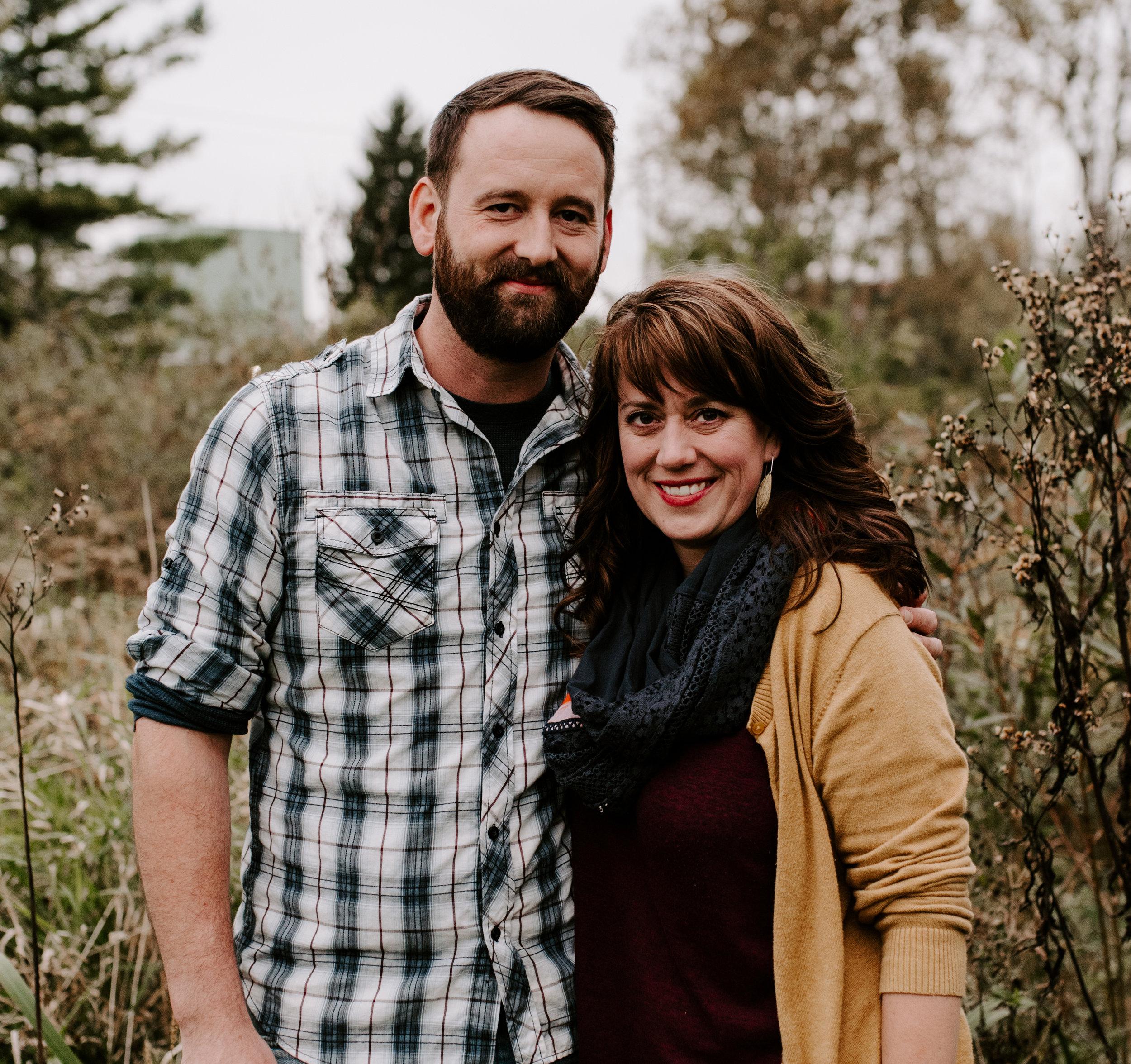 Eric Rausch and Jen Kiko - Headshot