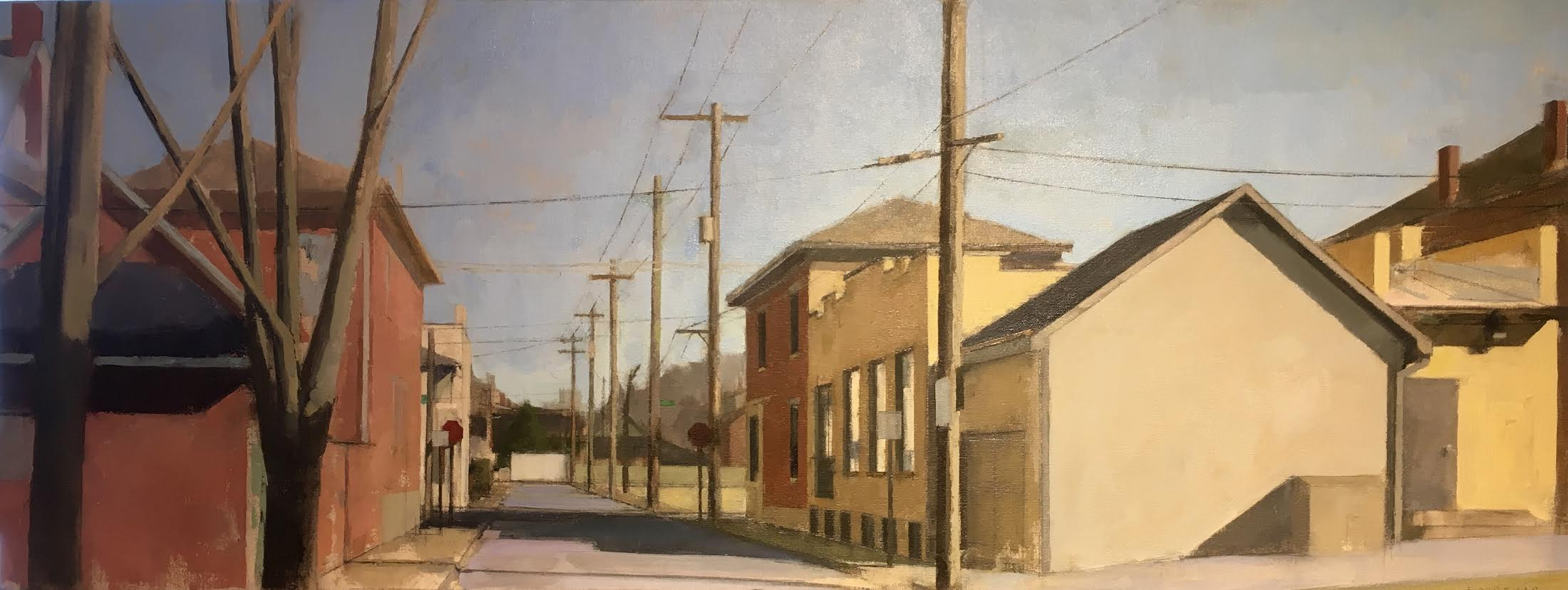 """Streetscape, German Village, Columbus, Ohio"""