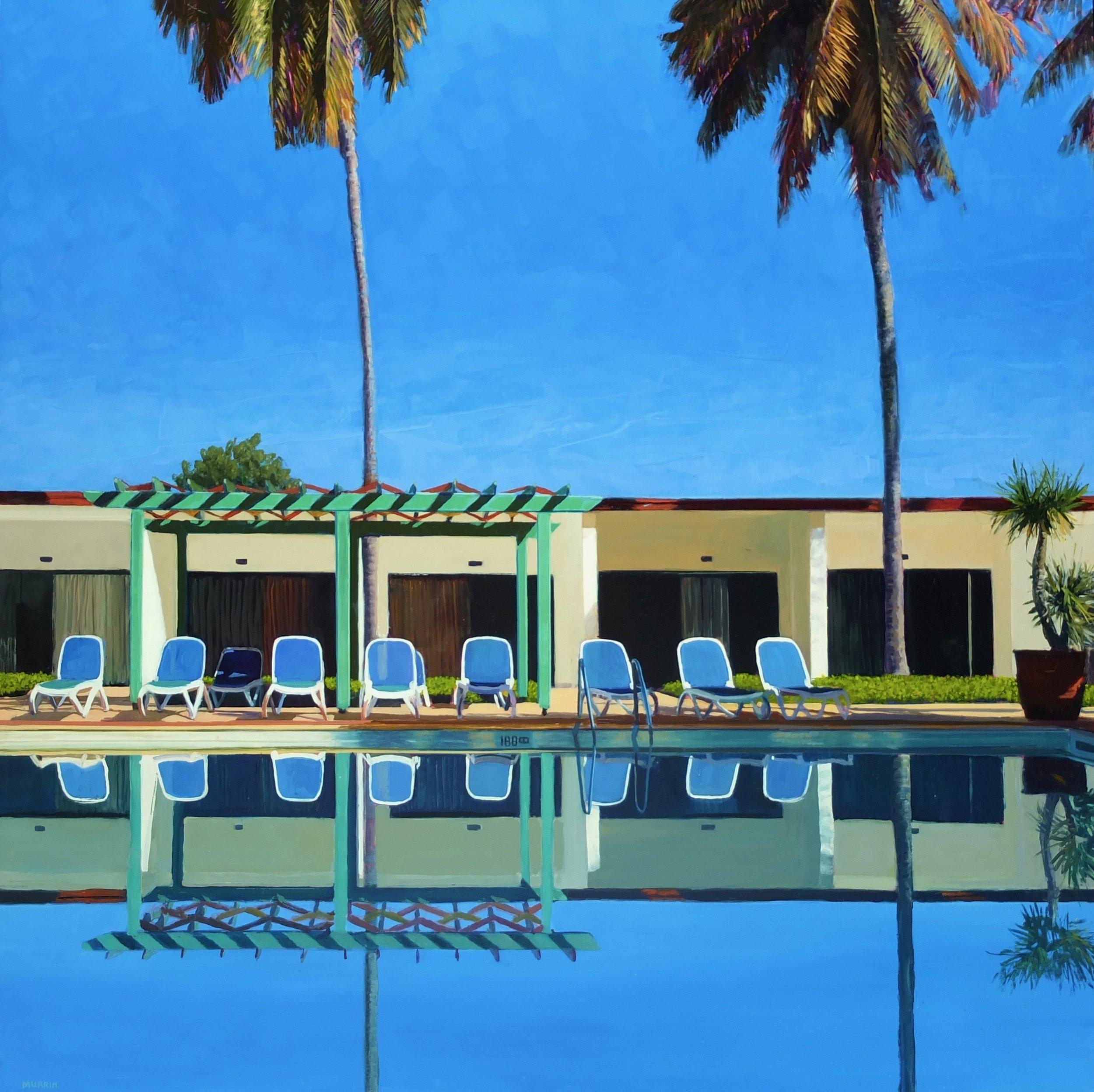 """Cienfuegos"", oil on panel, 36 x 36"""