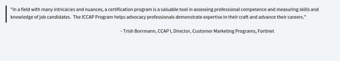 ICCAP-Certified-Customer-Advocacy-Professional-Quote-Trish-Borrmann