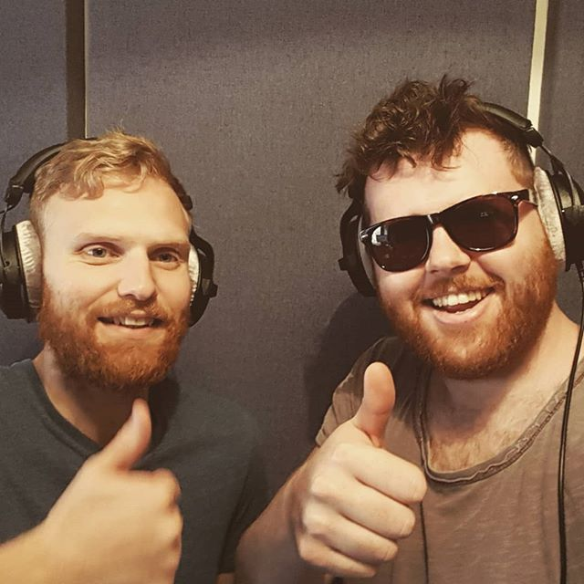First week of album recording done!! Looking forward to sharing it with everyone! Hurray!  #smoley #album #flutefiddle #sexygingerbeards #craigdavid #spinclass