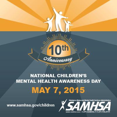 Children's Mental Health Awareness Day 2015