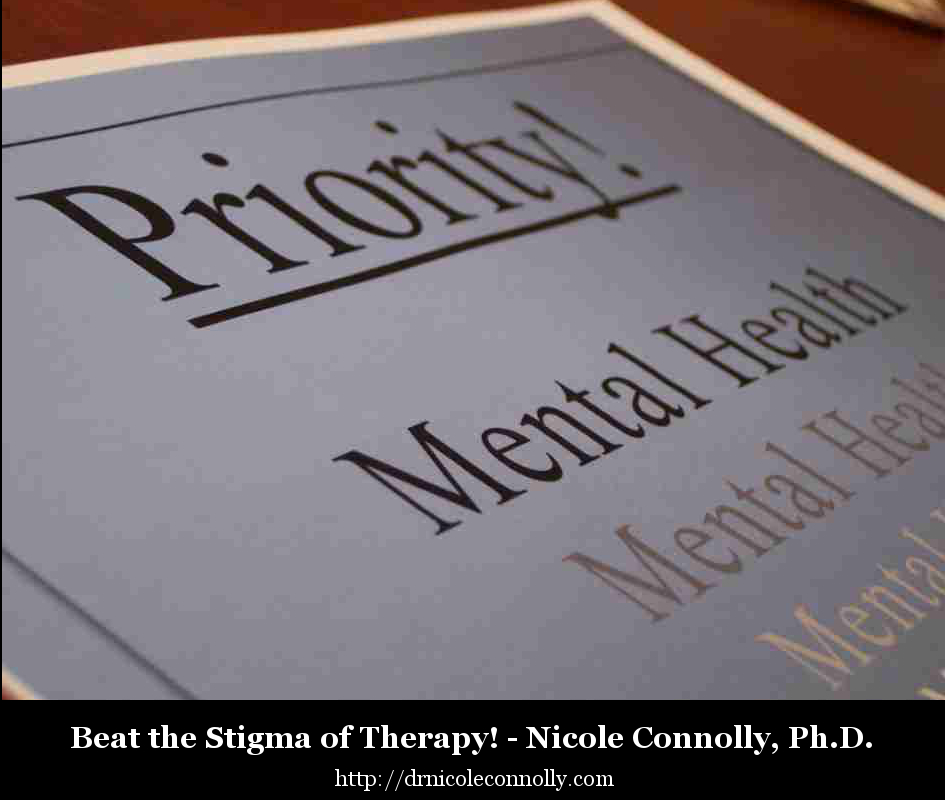 Beat the Stigma of Therapy!