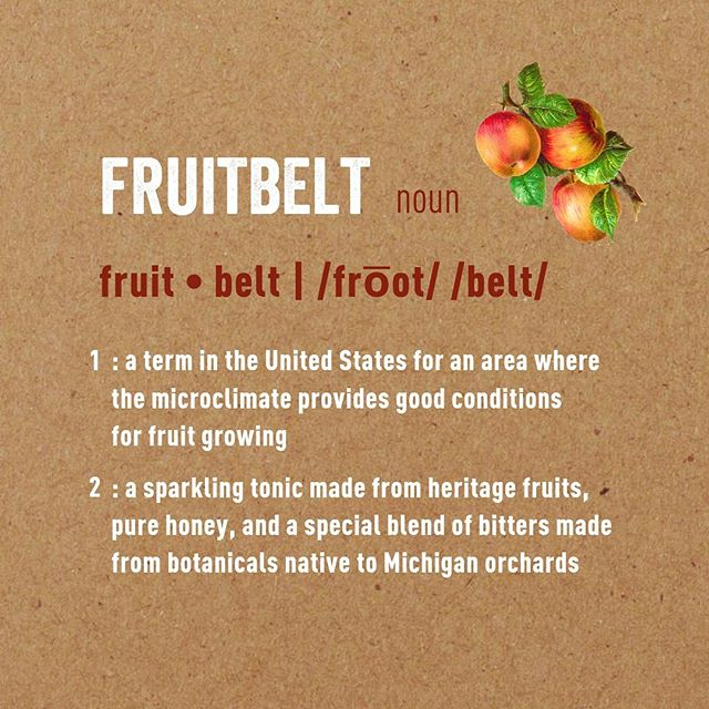 Get a souvenir from Michigan's Fruitbelt delivered directly to your doorstep! 🚪 Our sparkling fruit tonic is now available for nationwide shipping on our website Fruitbelt.com/get 🍒