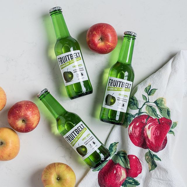 Our cult favorite Crisp Apple Fruitbelt, made from tart apples blended with dandelion, caraway and a tang of lime, is a great light and thirst-quenching drink on its own or a phenomenal mixer with light spirits, whiskey or cider 🍏 What's your favorite way to drink Crisp Apple?