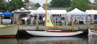 The 2018 WoodenBoat Show at Mystic Seaport Museum attracted nearly 13,000 attendees.