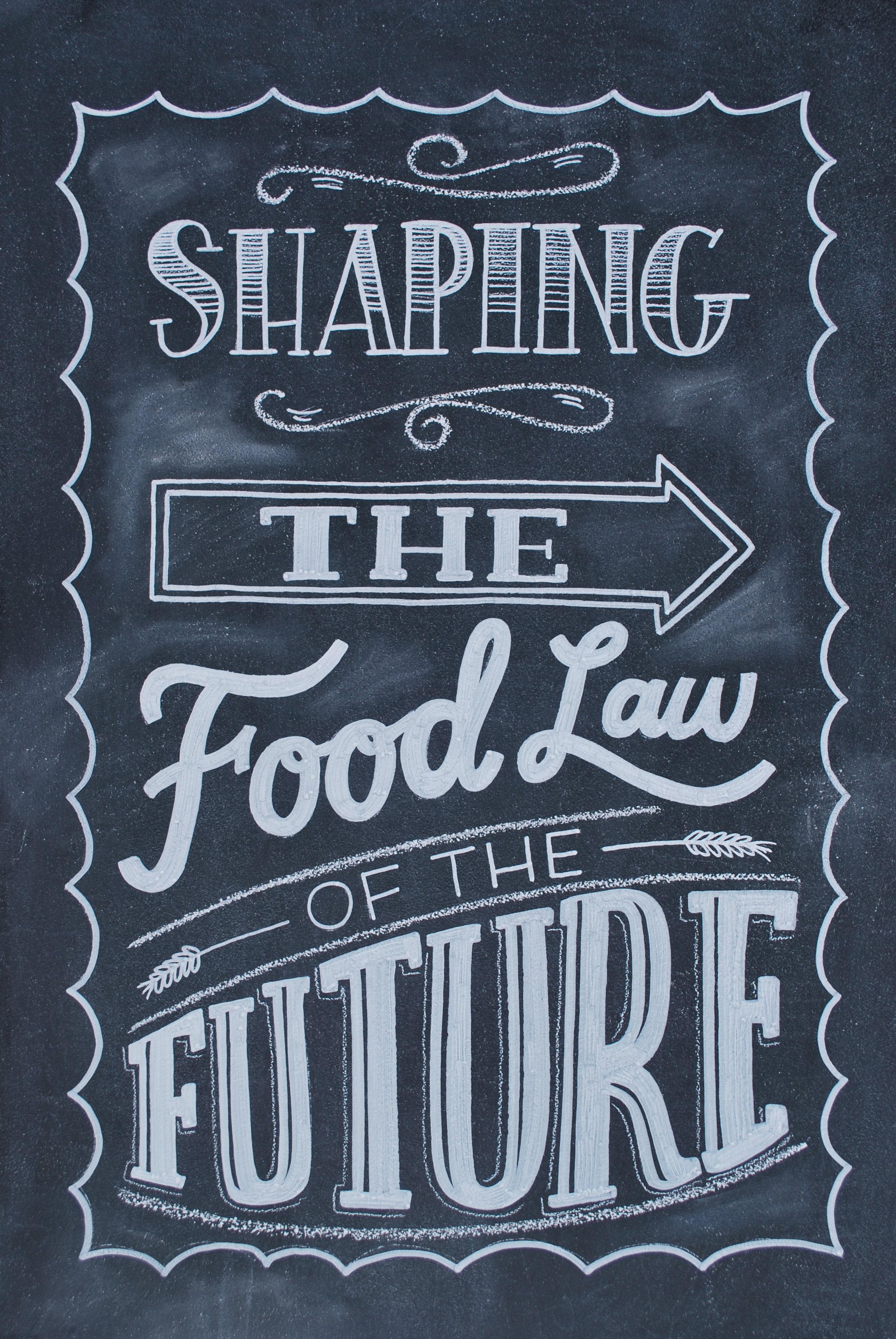 Chalkboard/Hand Lettering Design for Magazine
