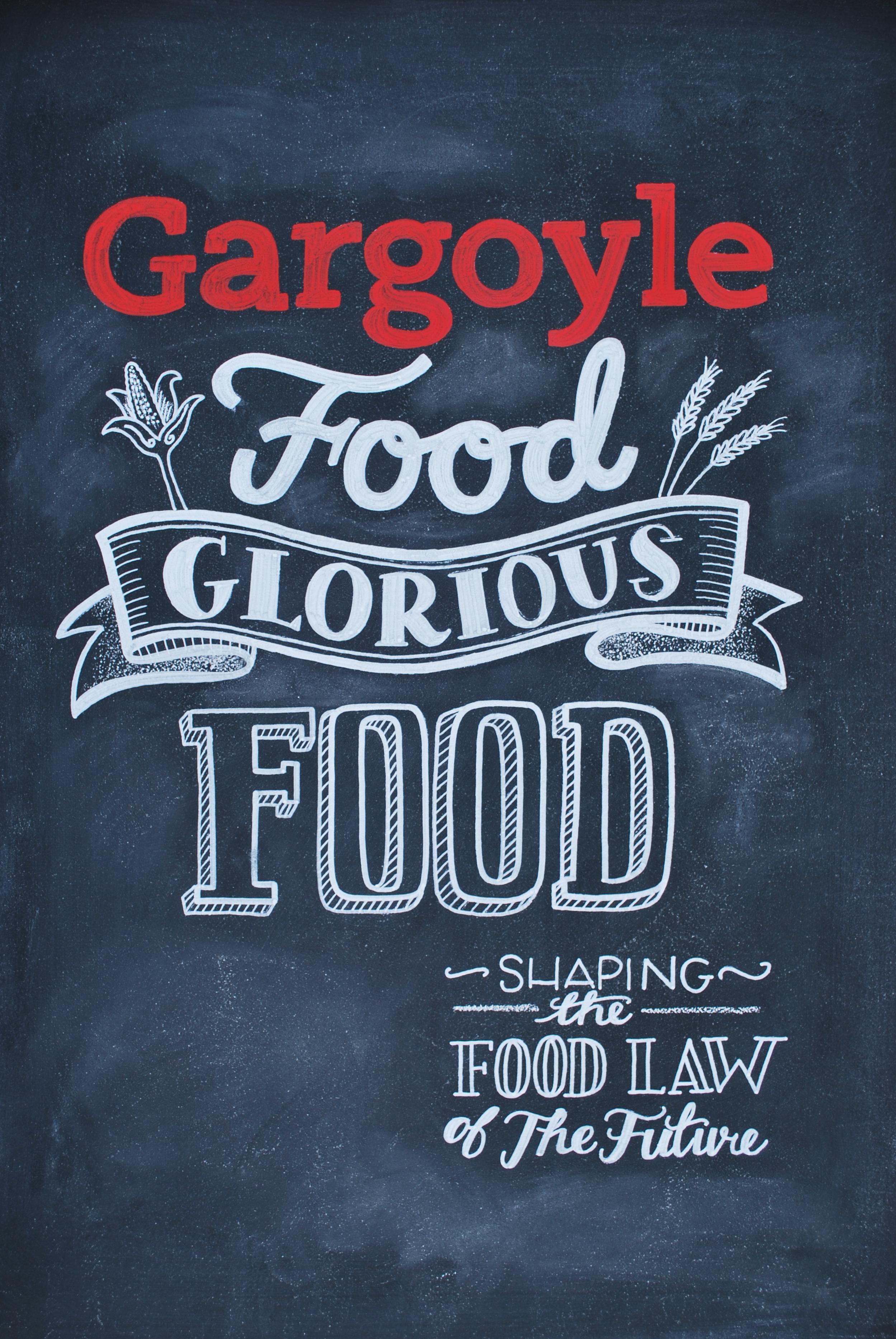 Gargoyle University of Wisconsin Law Magazine Cover Hand lettering Chalkboard.JPG