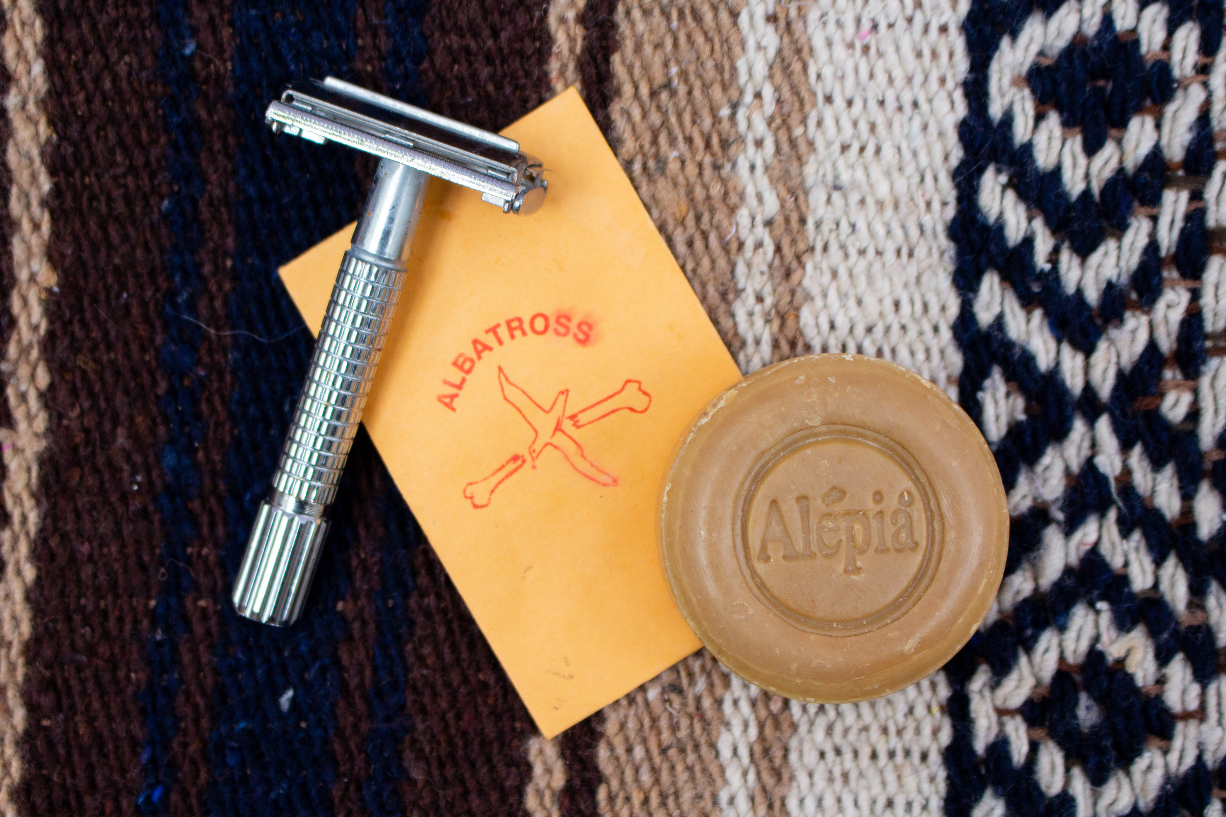 embrace a razor that works - Say good bye to the days of plastic razors and crappy shaves. Embrace a reusable razor! This stainless steel one from Albatross is my favorite but find what works for you!