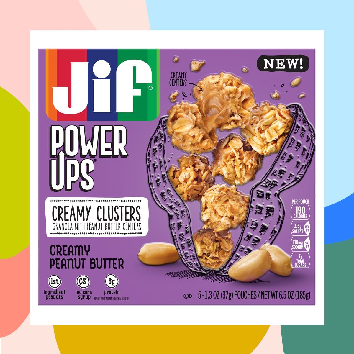 JIF power ups - Sonic branding for PowerUps campaign.