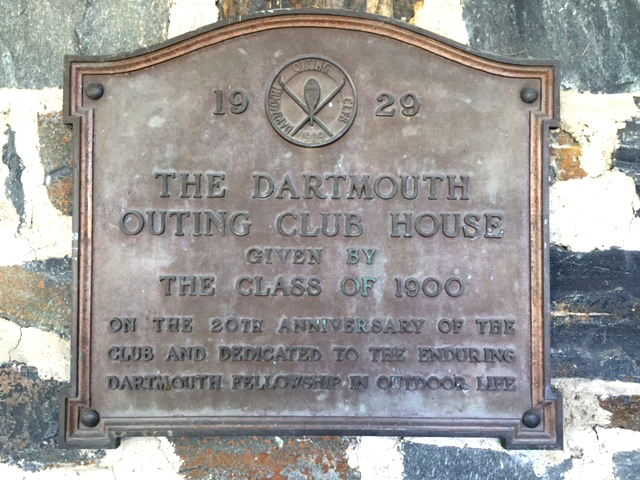 To the Enduring Dartmouth Fellowship in Outdoor Life – The Class of 1900