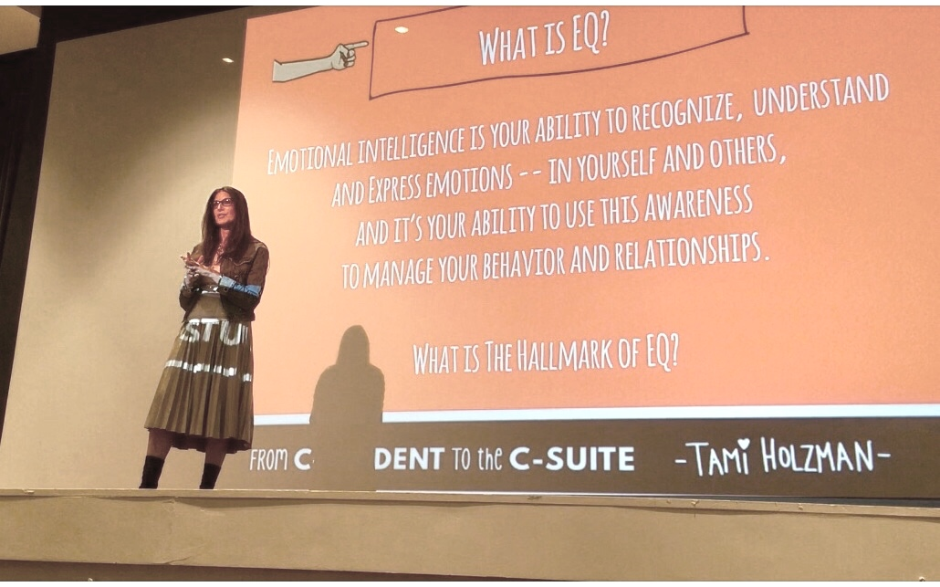 #TamiHolzman Tami Holzman #Keynotespeaker, Keynote Speaker, #emotionalintellegence Emotional Intelligence, #eq #csuite C-Suite #sales Sales #Author #Writer #Speaker, Author, female empowerment, #Business Business #Press Press#fromcstudenttothecsuite#investor#coaching#executivecoach#femaleempowerment#influencer