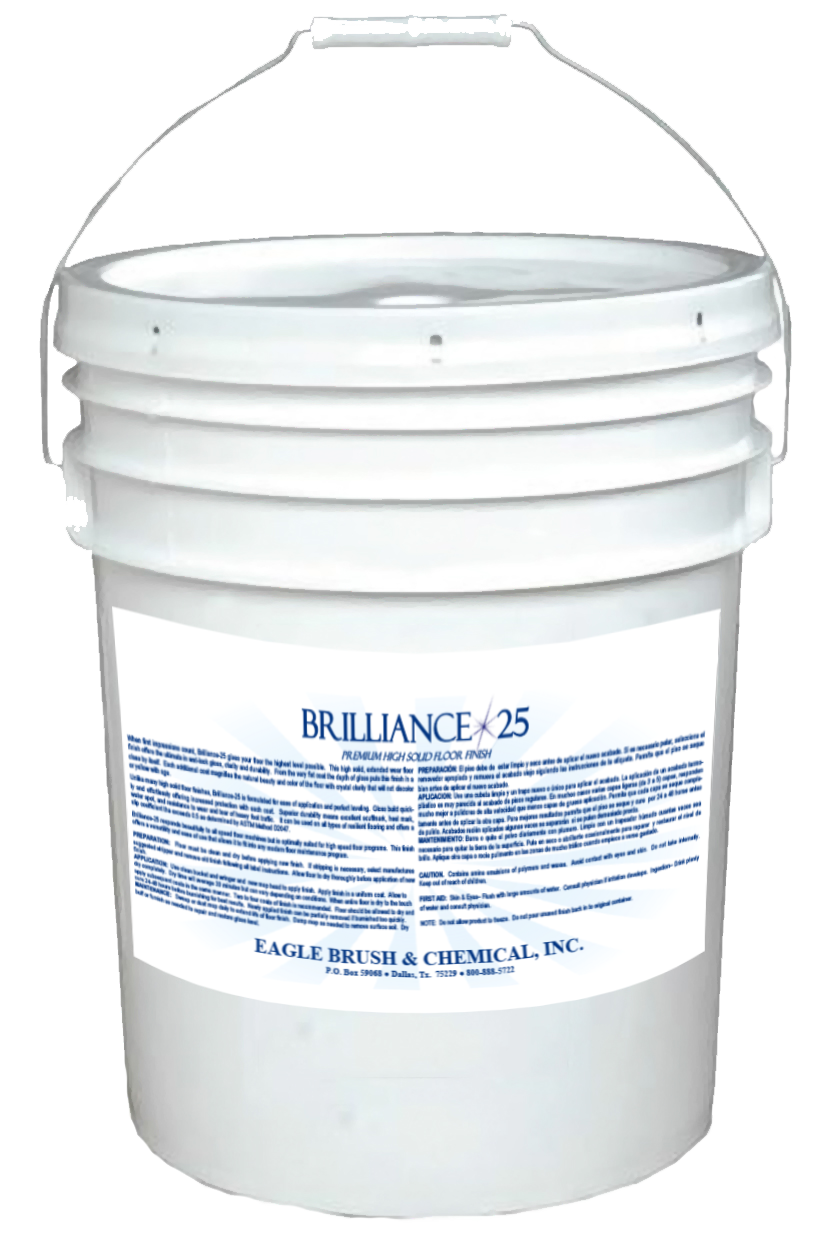 Brilliance 25 Premium High Solid Floor Finish