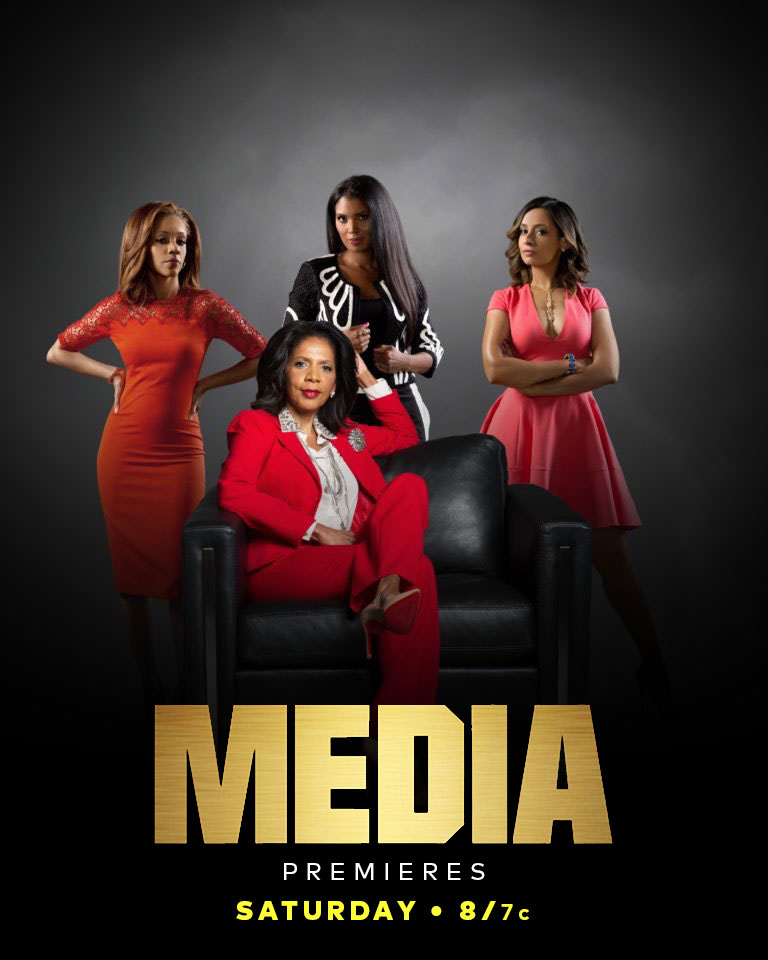 Media On TV One - A TV One original movie written and Executive Produced by Cathy Hughes. These images were used on social media to promote the airing of the movie by the television network and talent.