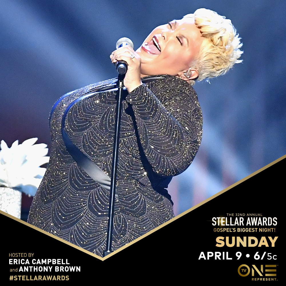 The Stellar Awards - TV One has had the privilege of airing the Stellar Awards for several years. Each year custom social graphics are created to promote the airing and are also shared with the talent for posting on their social networks.