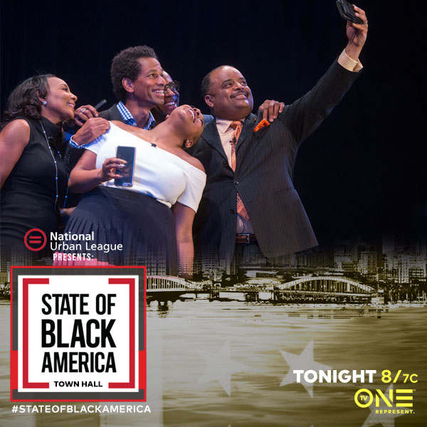 State Of Black America Town Hall - The National Urban League partnered with TV One for two years to put on a much needed discussion about issues that effect the Black community that our politicians are not talking about. Images from the taping of the town hall were used to promote the airing on TV One.