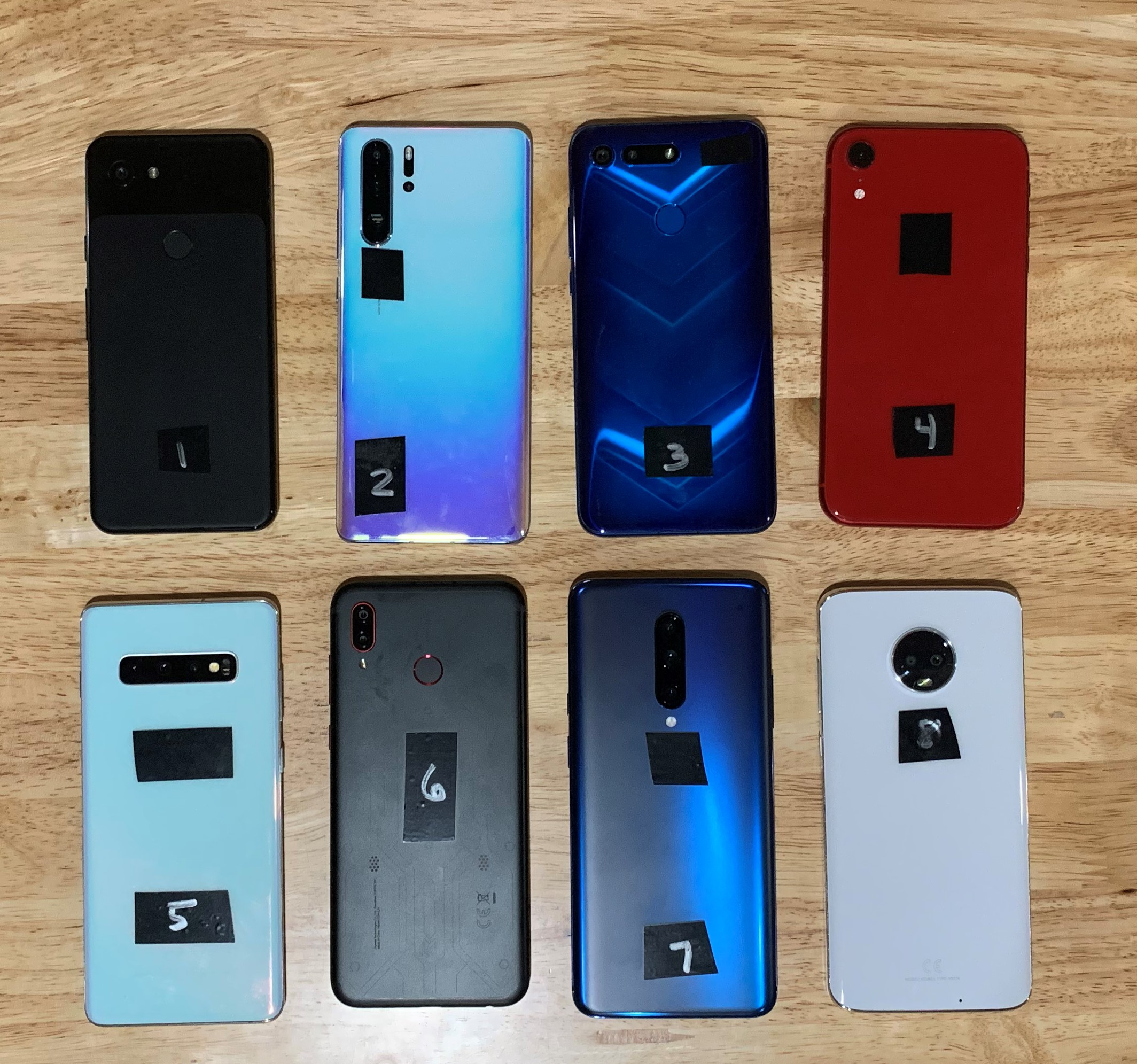 Smartphones Lineup