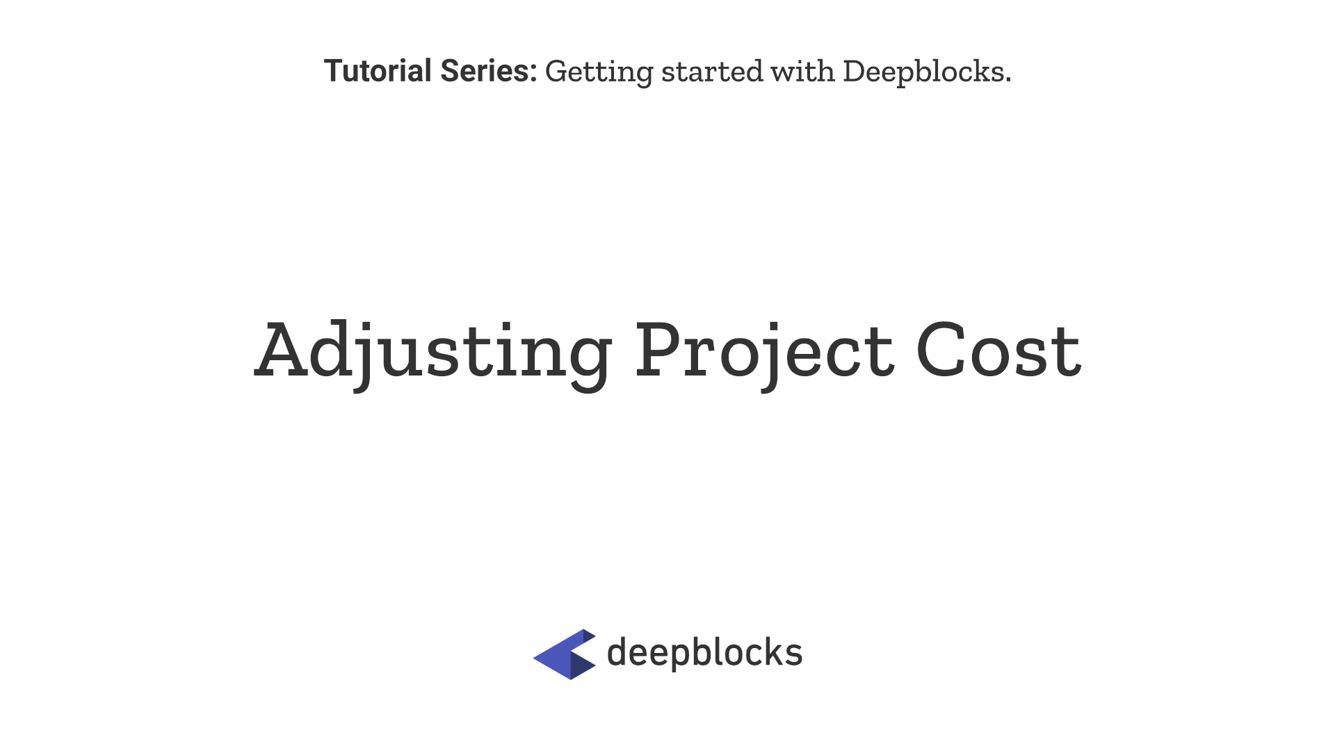 05 Adjusting Project Cost.png