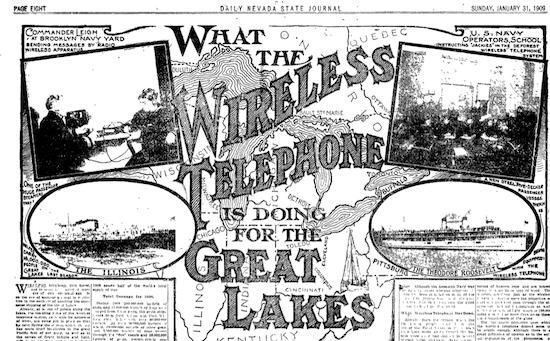 (January 31, 1909 Nevada State Journal)