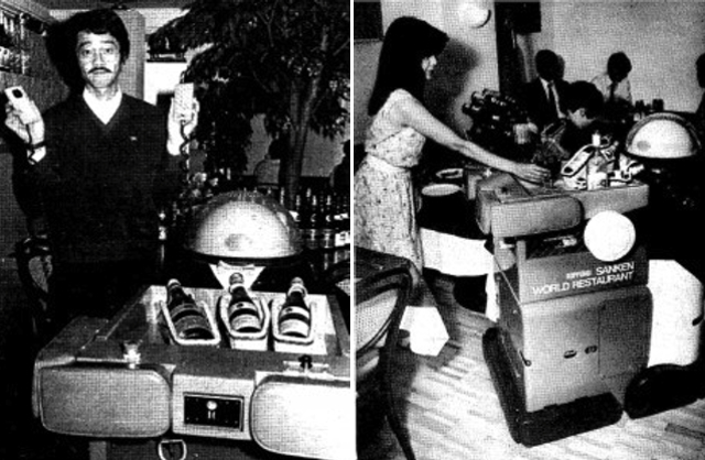 Ken-Chan the robot waiter (March 11, 1987 issue of Pacific Stars and Stripes)