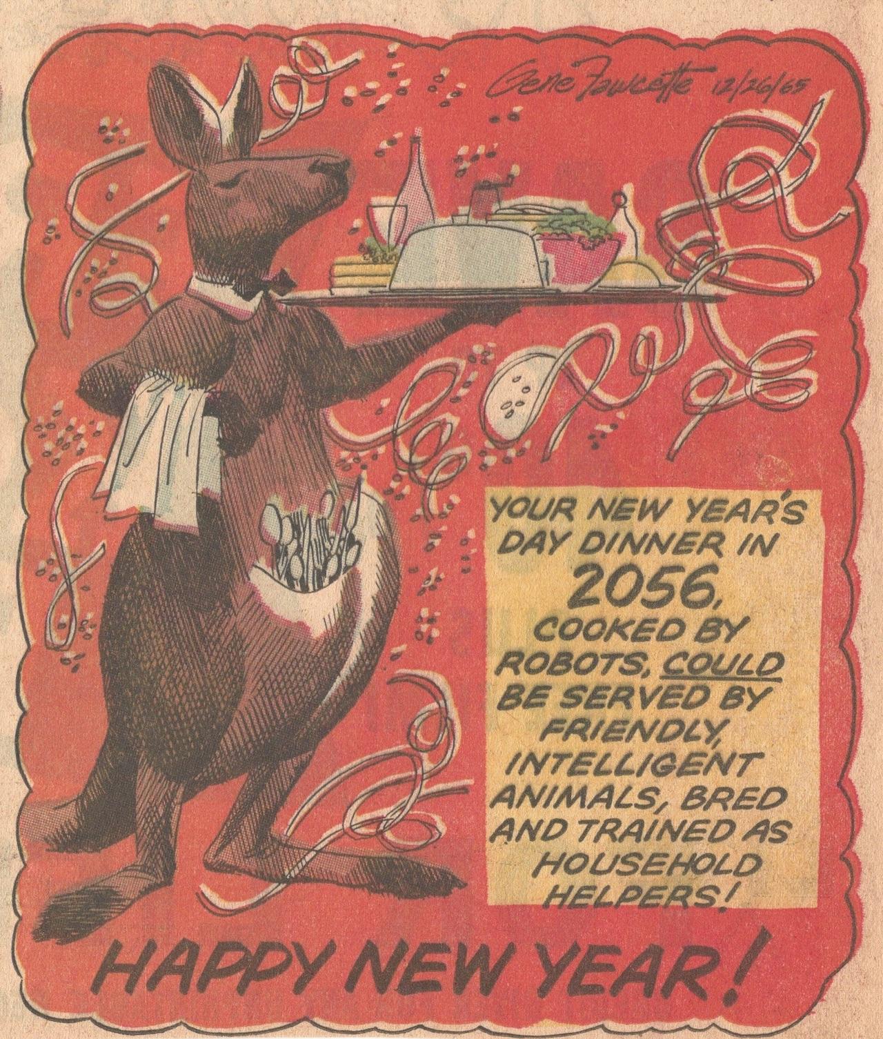 Kangaroo butler of the year 2056 (   Novak Archive   )