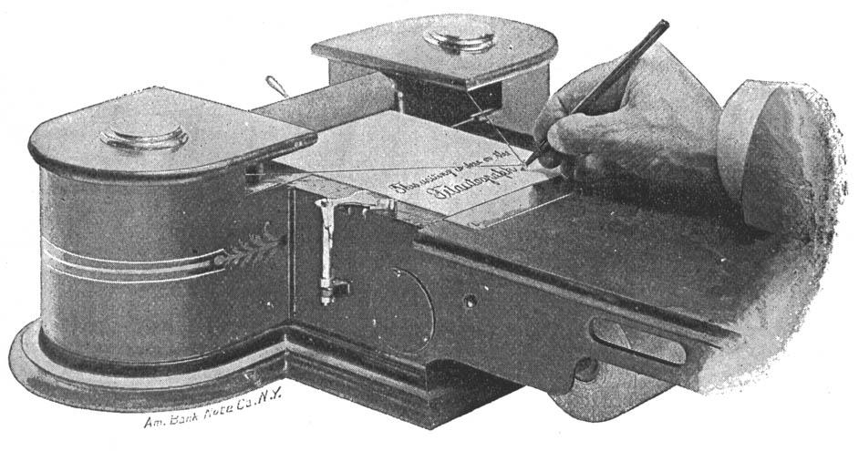 Telautograph circa 1893 from  RedOrbit