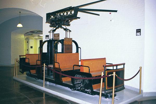 Image of a monorail car from clouse.org
