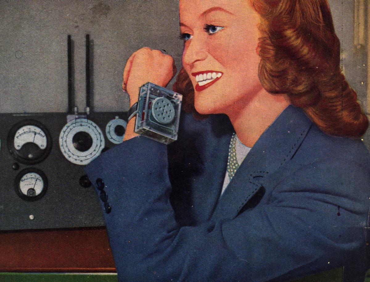 April 1948 cover of Radio-Craft magazine ( Novak Archive )