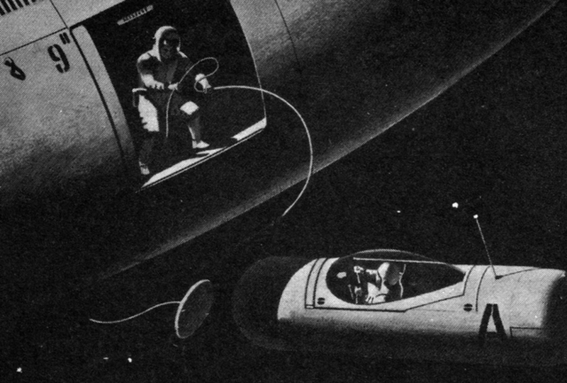 January 1961 issue of  Space World  magazine (Novak Archive)