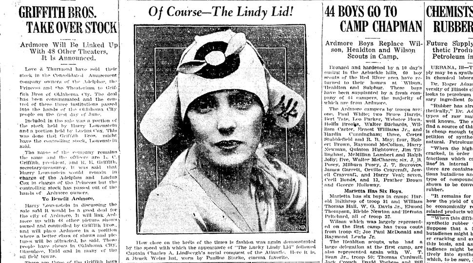 June 2, 1927 Ardmore Daily Ardmoreite in Ardmore, Oklahoma