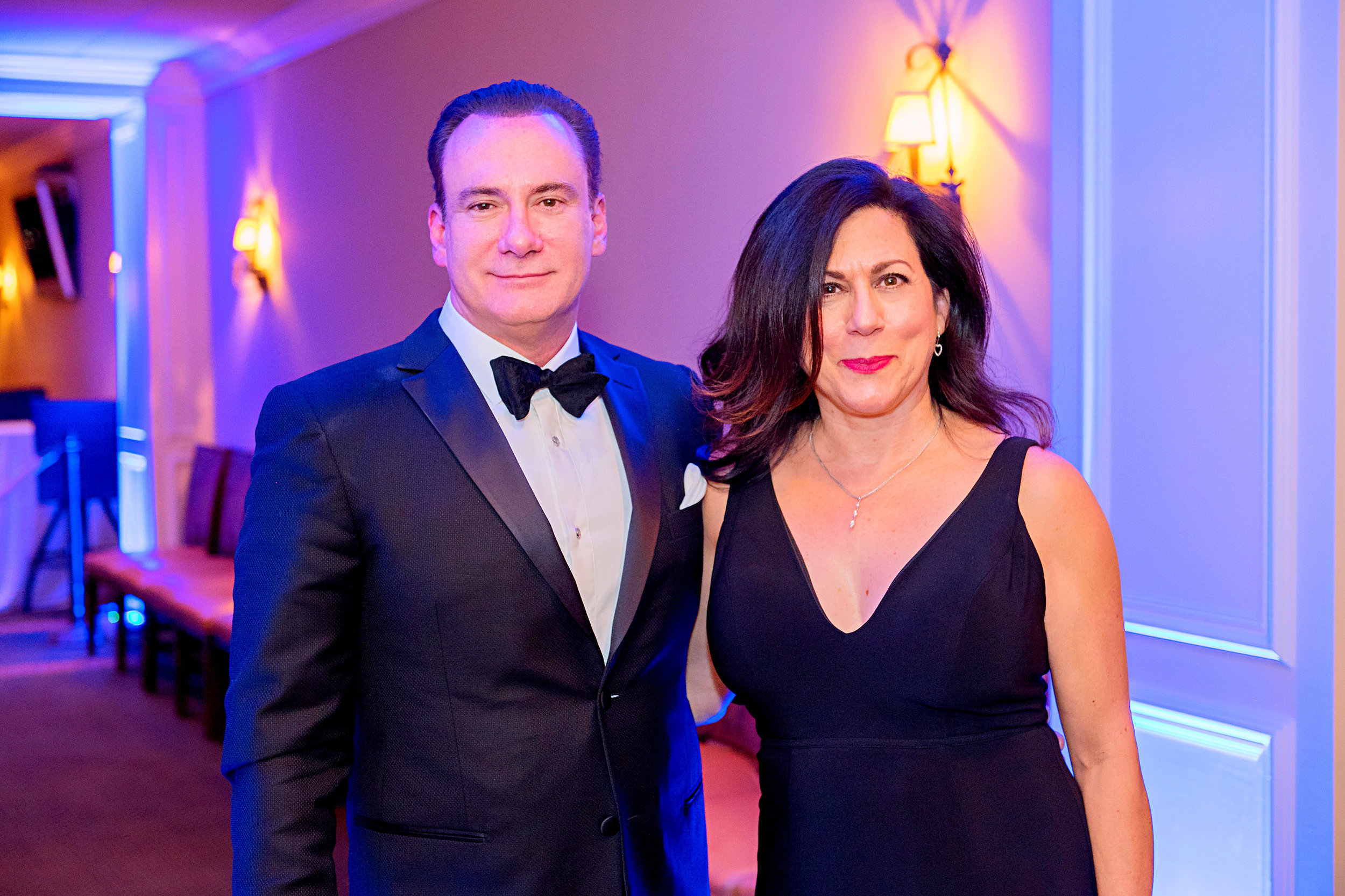 Michael and Maria Zappa at the 2019 Cape Fear Valley Foundation Gala; an event that raised nearly $200,000 to support programs and services within the Health System.