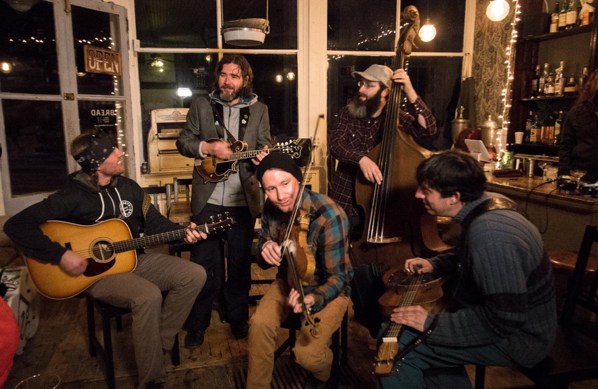 Rapidgrass Quintet - 4:30-6:30pm
