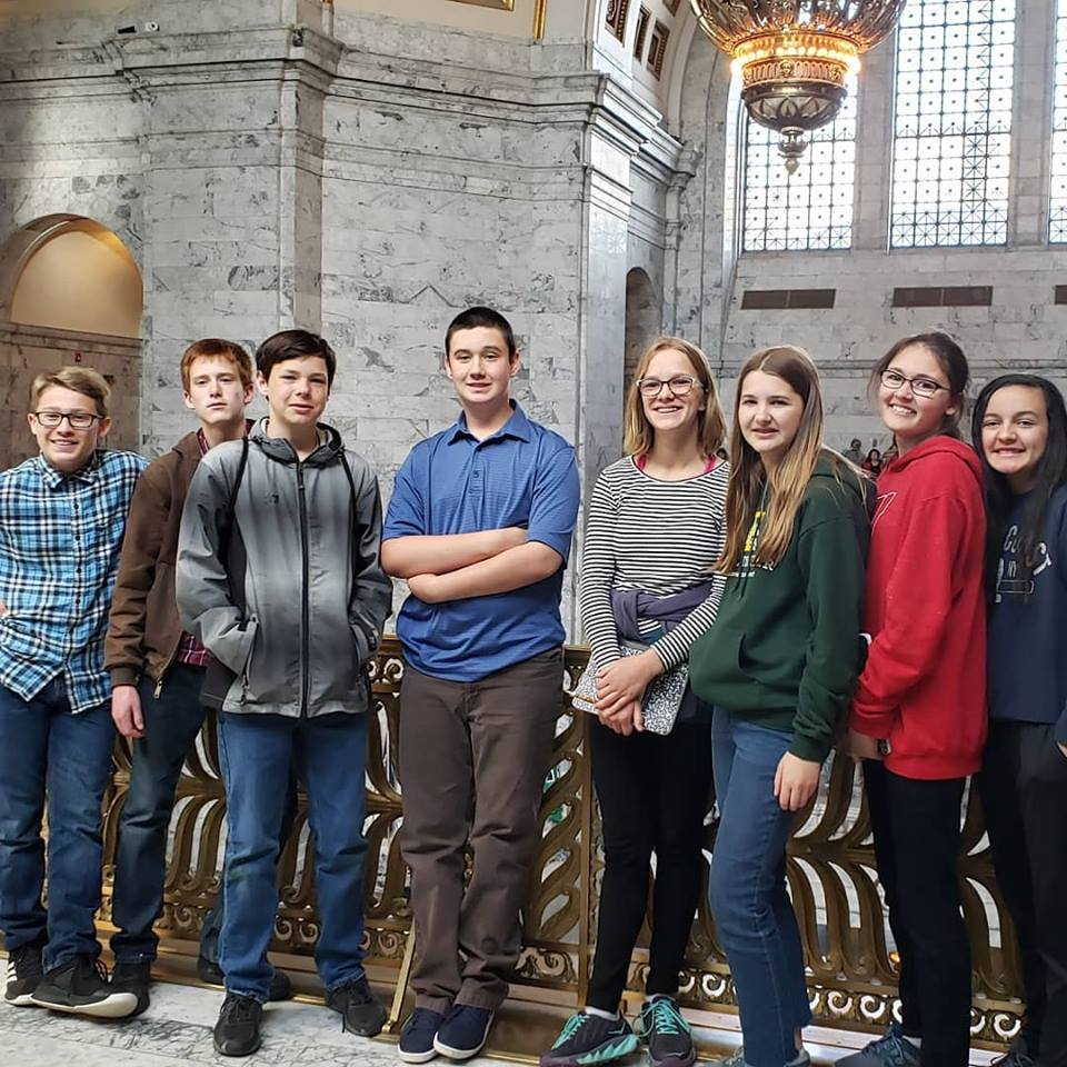8th Grade Field Trip to the Washington State Capitol