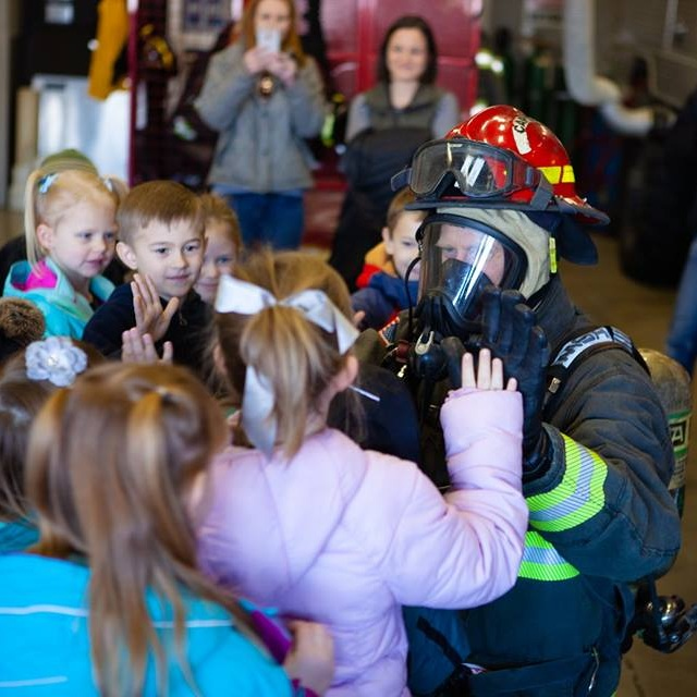 Kindergarten Field Trip to the Douglas County Fire Station