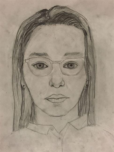 8th Grade Self Portrait