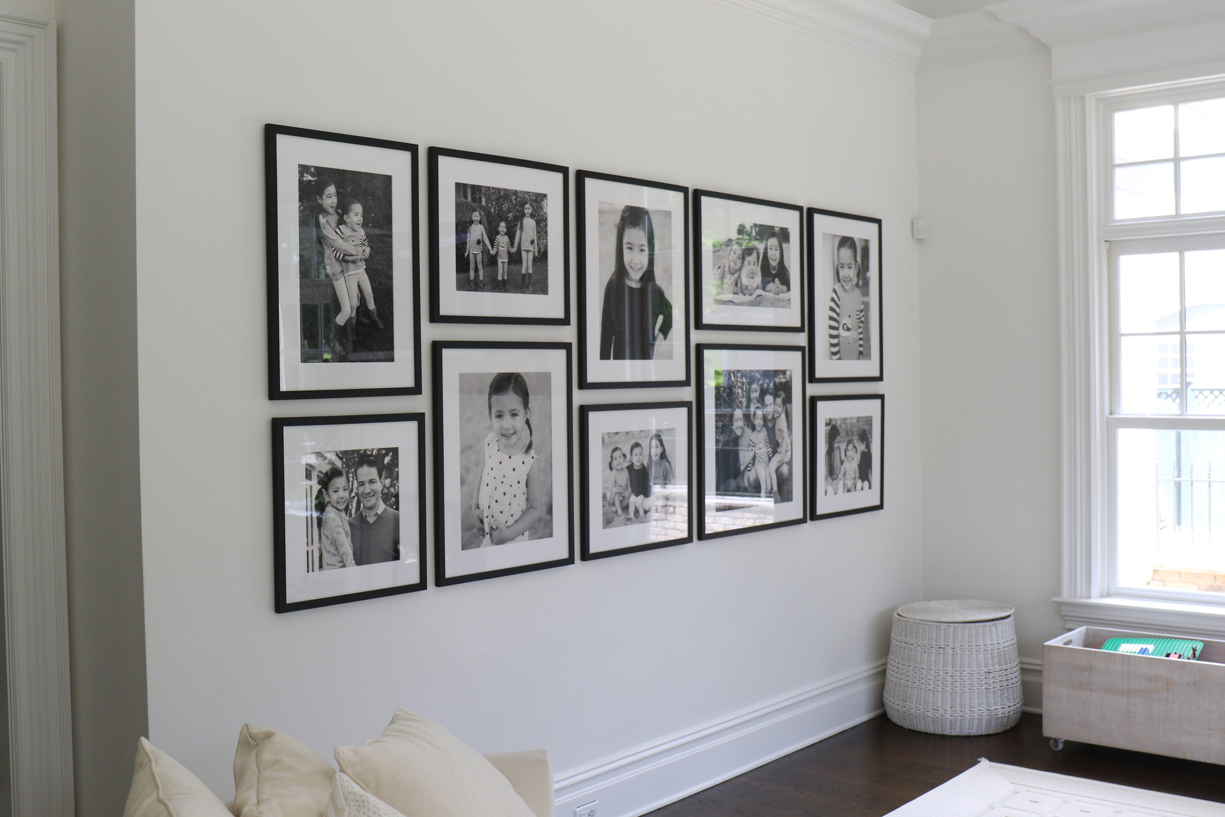 Gallery Walls - All of our installations are custom designed for your space and your style.