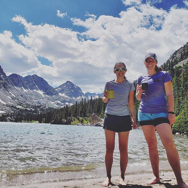 """""""Cause we got friendship The kind that lasts a lifetime Through all the hardship, you know you're a friend of mine"""" -Chris Stapleton  Thanks for hiking 12 miles, some of it in the dark, to a place you've never been before, thinking you were lost a couple of times, arriving at camp at 10pm to celebrate my birthday with me!! You're the best @amysoutsideagain ! I'm always down for an adventure with you!  #keepitwild #simplyadventure #wildernessculture #lifeofadventure #liveoutdoors #beautifuldestinations #roamtheplanet #discoverearth #wherewillwegonext #makemoments #exploremore #stayandwander #goexplore #destinationearth #exploringtheworld #welltravelled #lovelifeoutside #womenforwildlands #staywild #itsgreatoutthere #mountaingirls #alpinebabes"""