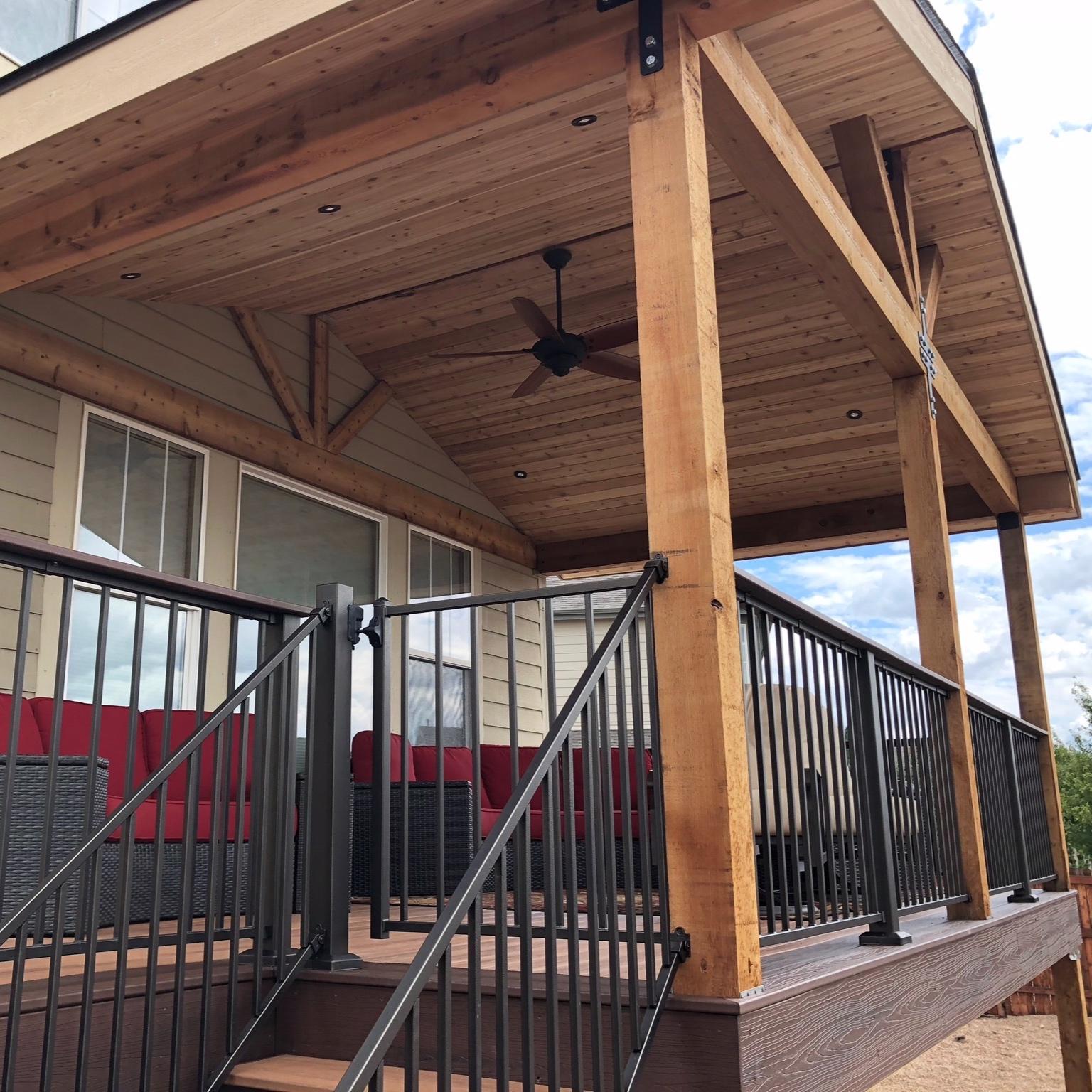 deck railing -